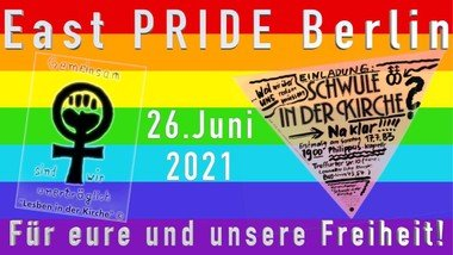 East PRIDE Berlin: Gottesdienst und Demonstration