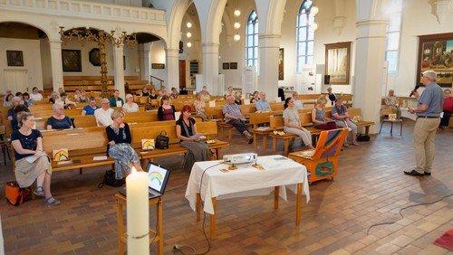 Gottesdienst der Frankfurter Ökumenischen Kantorei zum Abschluss des ersten Halbjahres 2021
