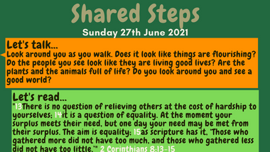 Shared Steps - inspiration for your conversations
