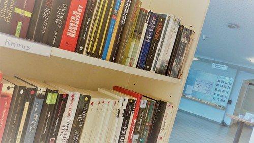Die Tauschbibliothek ist zurück im Gemeindezentrum