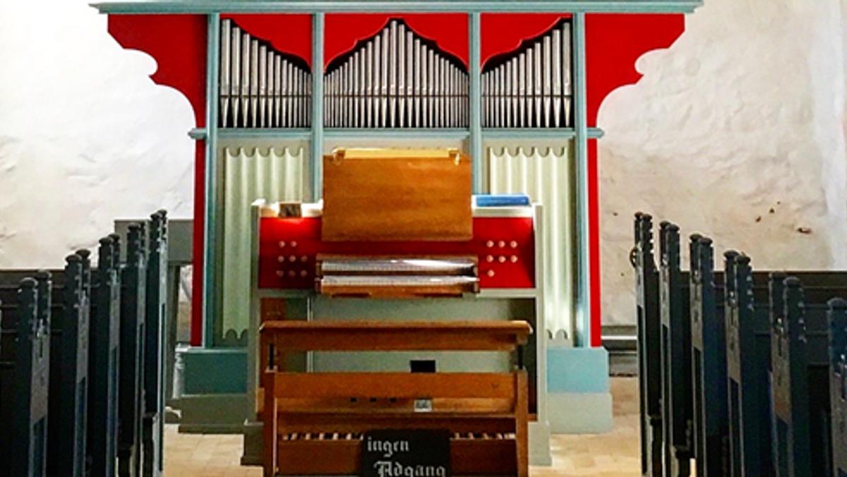 Orgelmusik med Tysk talent