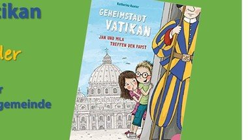 Lesung für Kinder:  Geheimstadt Vatikan