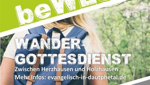 """""""was beWEGt"""": Erster Wandergottesdienst des Nachbarschaftsraums Dautphetal"""