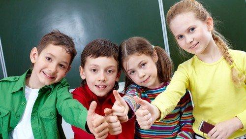 Wir begrüßen alle neuen Schulkinder!