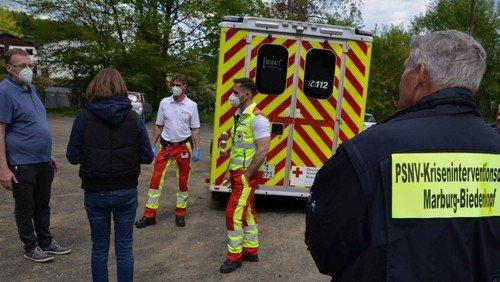 Mitarbeitende in der Notfallseelsorge und Krisenintervention geschult