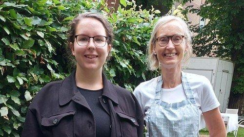 Velkommen til vores frivillige Maja og Lene