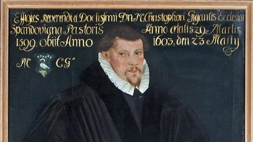 Pfarrerbild Christophorus Gigas (1570-1603)