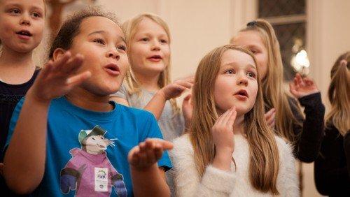 Spire- og juniorkor i Simon Peters Kirke