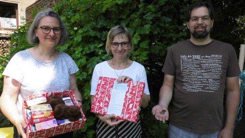 Liebe, die ankommt  - Weihnachtspäckchen für Albanien