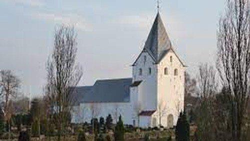 Se kirkerne fra oven