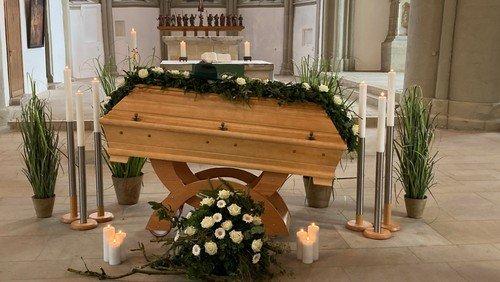 Trauerfeiern in der Kirche