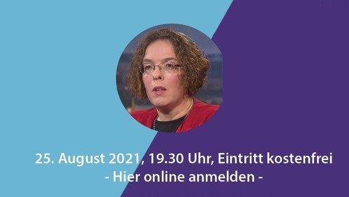 Rabbinerin Gesa Ederberg zu Gast in der Talkreihe