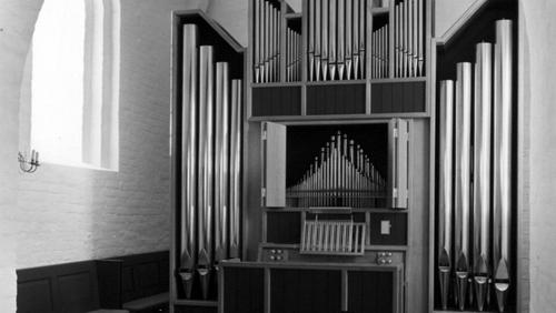 Da Hellevad Kirke fik sit første orgel