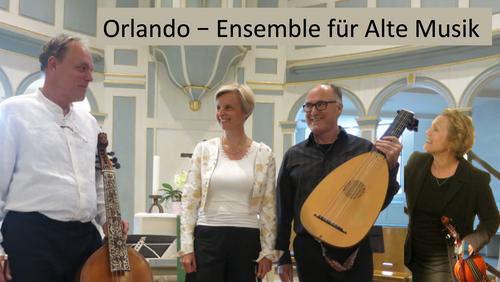 Einladung: Orlando - Ensemble für alte Musik