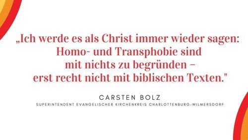 Predigt von Carsten Bolz über das Bußwort der Kirchenleitung zu Homosexualität