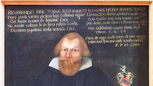 Pfarrerbild Tobias  Reinhart (gest. am  8. 5. 1626 )