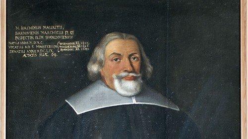 Pfarrerbild Joachim  Mauritius (1590 – 1659)