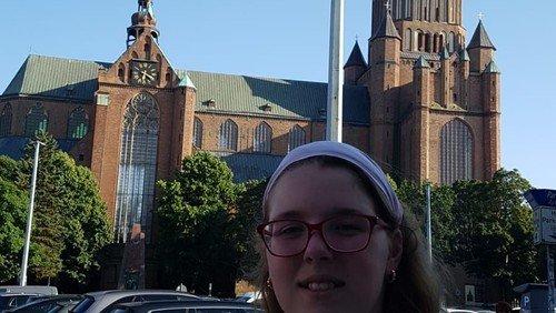 Blick über den Kirchturm III - Stralsund