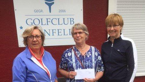 Golfclub Reinfeld spendet 750 Euro an die Tafel