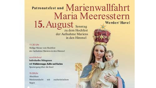 Willkommen zur Marienwallfahrt in Werder