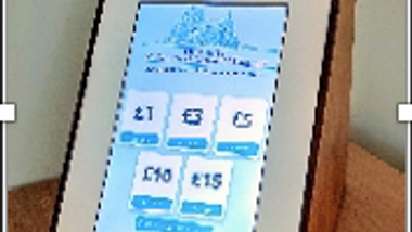 Contactless comes to St Nicholas