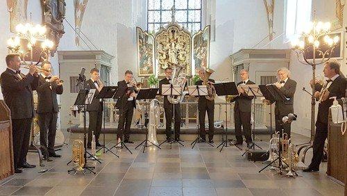 Verdensklasse brass i Sæby Kirke