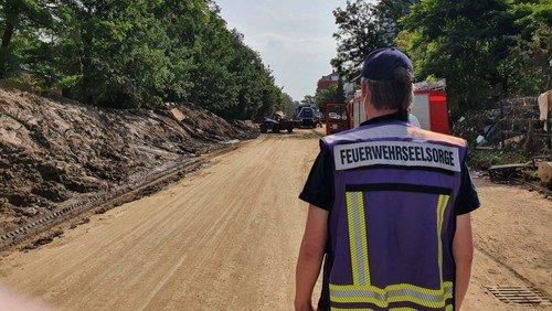 Einsatz im Hochwassergebiet: Burger Pastor als Seelsorger in der Eifel