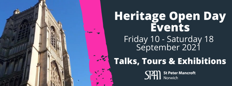 Heritage Open Day Events 2021 | 10-18 September