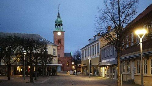 Kirken og byen