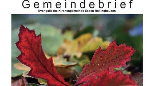 Gemeindebrief | Sept-Nov 2021