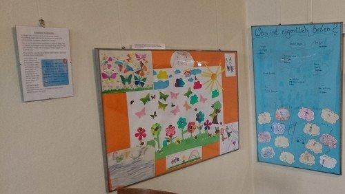 Ausstellung der Kita