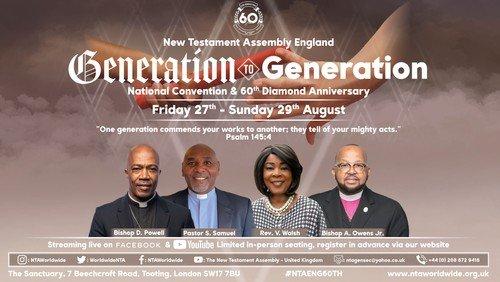 NTA Generation to Generation  National Convention & 60th Diamond Anniversary
