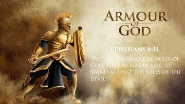 Rev. Trev's Sermon for Sunday 22nd August: Putting on The Armour of God.