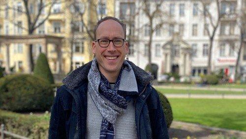 Pfarrer Tilman Reger stellt sich vor
