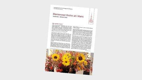 Neu: Gemeindebrief für September und Oktober