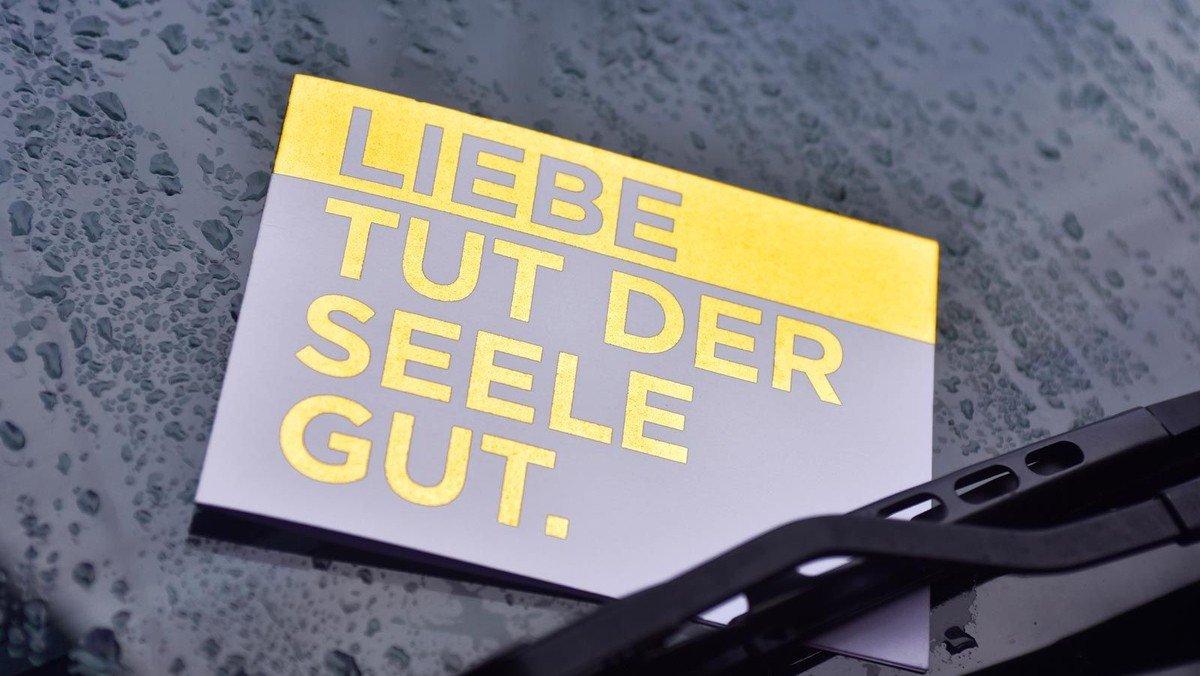 """Zur Bundestagswahl: """"Liebe tut der Seele gut - Hass schadet der Seele"""""""