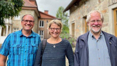 Pfarrer-Trio komplett