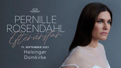 Koncert med Pernille Rosendahl den 27. september kl. 20.00