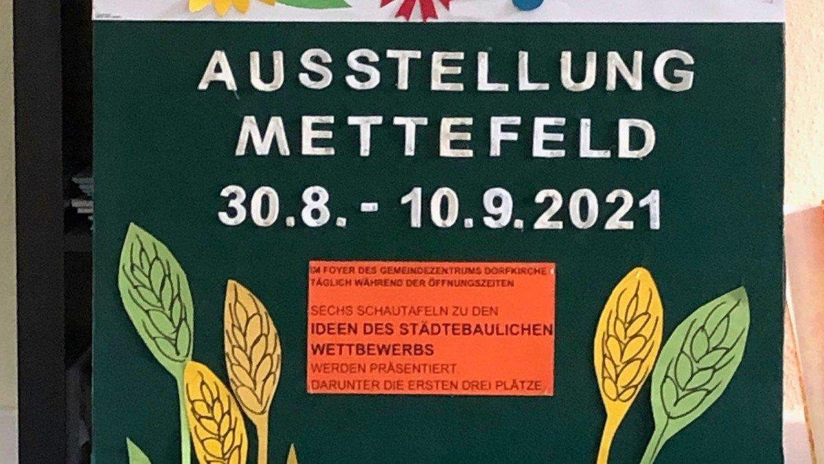 """Ausstellung zum Ideenwettbewerb """"Mettefeld"""""""