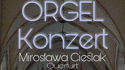Organistin Mirosława Cieślak in Aschersleben zu Gast
