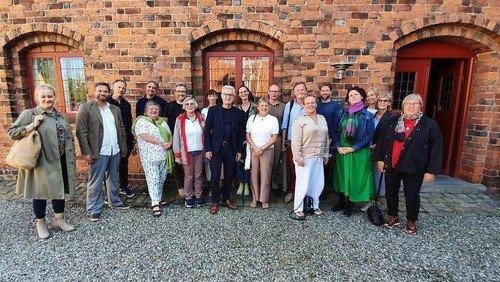 Alverdens præster i Klithuset ved Øresund