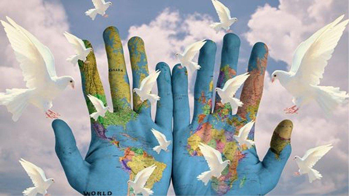 Suche Frieden und jage ihm nach