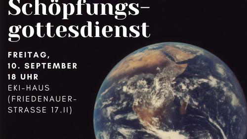 Ökumenischer Schöpfungsgottesdienst am 10 . September