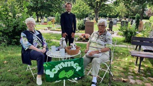Sonntagscafé auf dem Hauptfriedhof