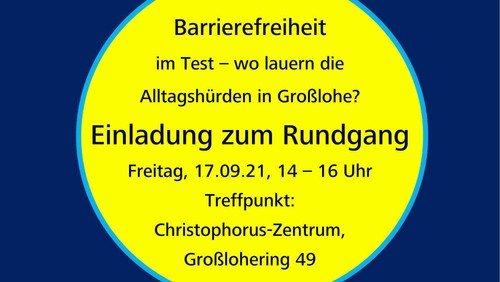 Barrierefreiheit im Test – wo lauern die Alltagshürden in Großlohe?