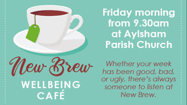 New Brew Wellbeing Cafe Reopens