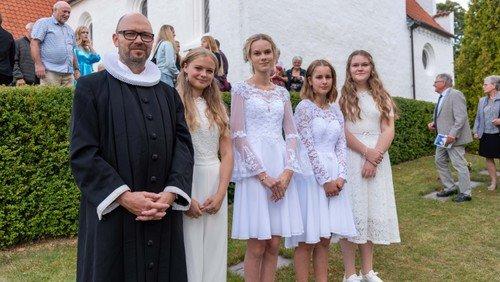 Konfirmation i Ejby Kirke
