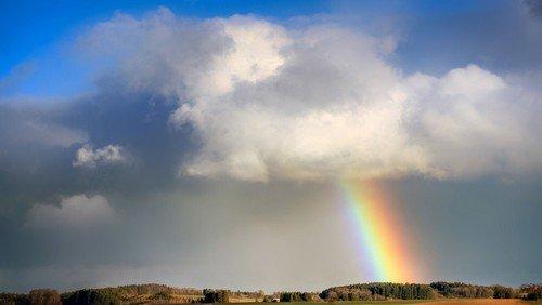 Regnbuen og Guds rige