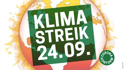 Klimastreik am 24. September 2021
