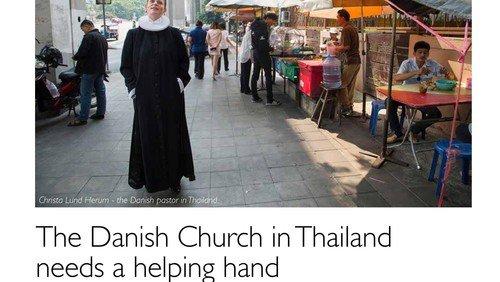 Artikel om kirken i ScandAsia